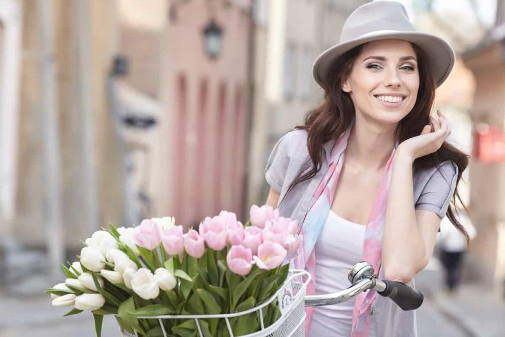 Adult woman smiling iSmile Orthodontics Redmond WA