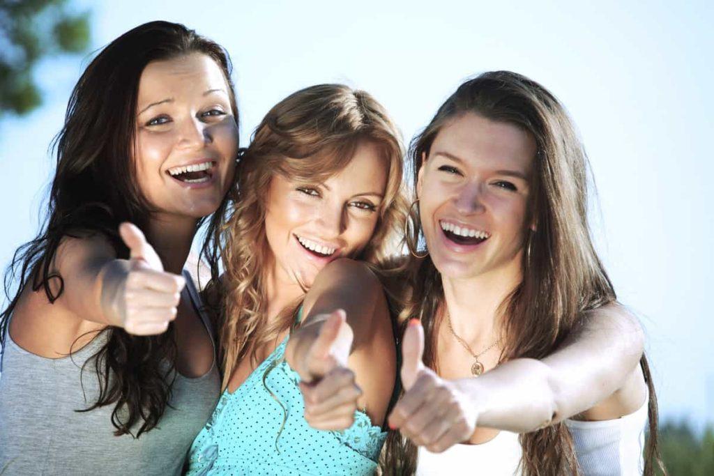 Group of women iSmile Orthodontics Redmond WA