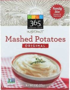 Mashed Potatoes iSmile Orthodontics Redmond WA