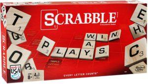 Board game, scrabble